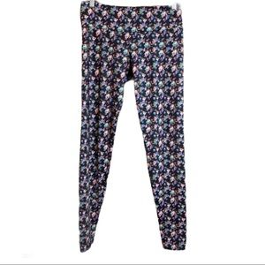 Onzie Floral Active Wear Leggings Size M/L